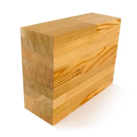 Vliesgevel hout
