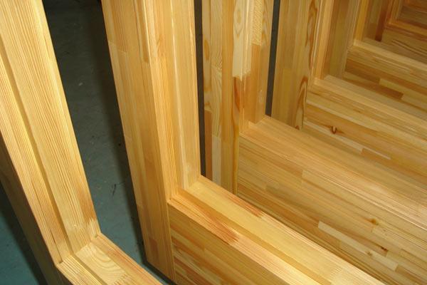 deurhout vilam lariks - Gelamineerd hout