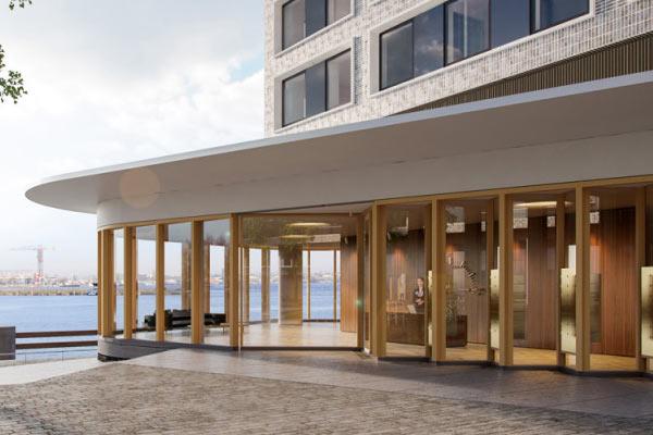 haven hotel lariks vilam - Gelamineerd hout